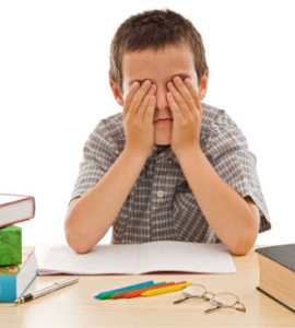 childs vision learning difficulties